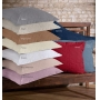 Porta travesseiro reffinata color branco - Bouton