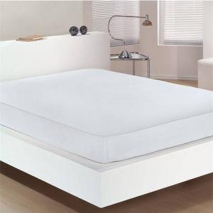 Protetor Colchão King 193x203x40cm Impermeavel Branco - Bouton
