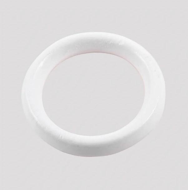 Argola para Cortina Grossa 18mm Branco - Bella Arte