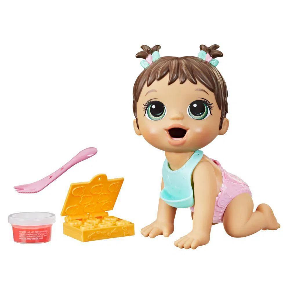 BABY ALIVE HORA DA PAPINHA MORENA
