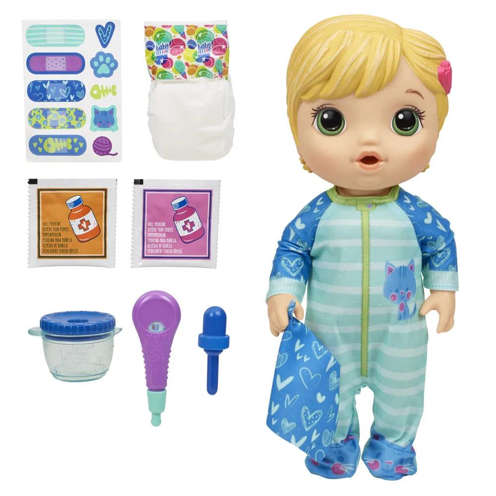 Boneca Baby Alive aprendendo a cuidar - Hasbro