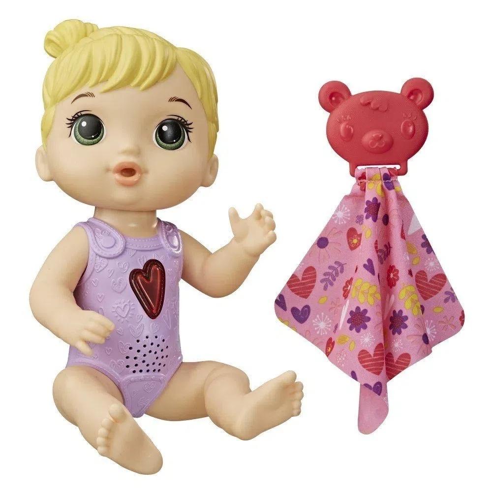 Boneca baby alive coraçaozinho loira - Hasbro