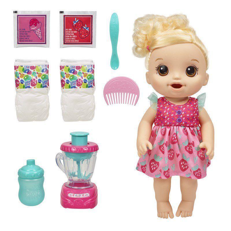 Boneca Baby Alive Misturinha Loira - Hasbro