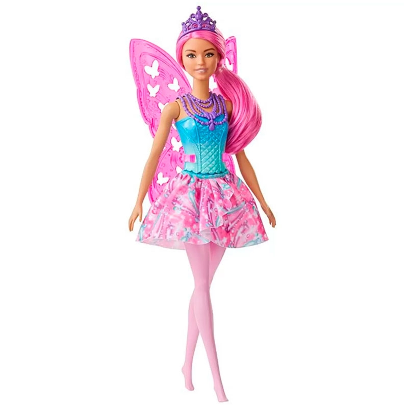 Boneca Barbie Fada Dreamtopia - Rosa - GJJ98 - Mattel