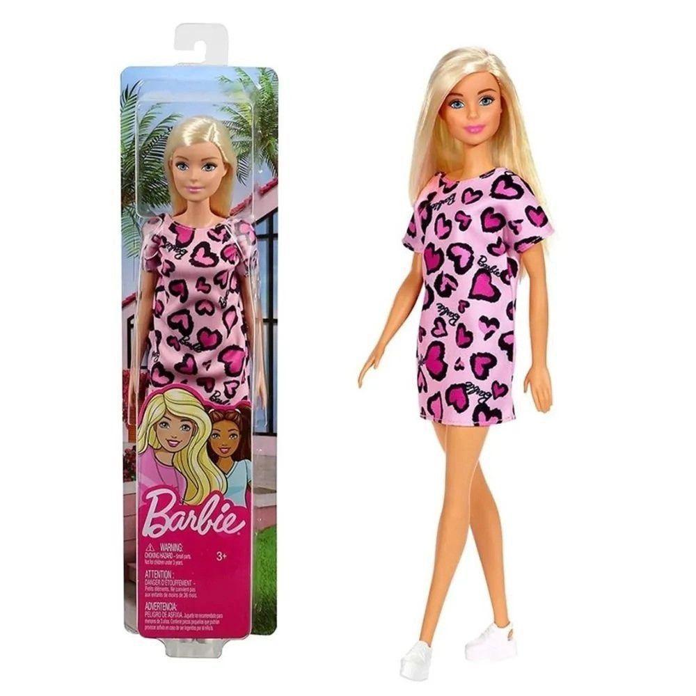 Boneca Barbie Fashion And Beauty - Loira - Mattel