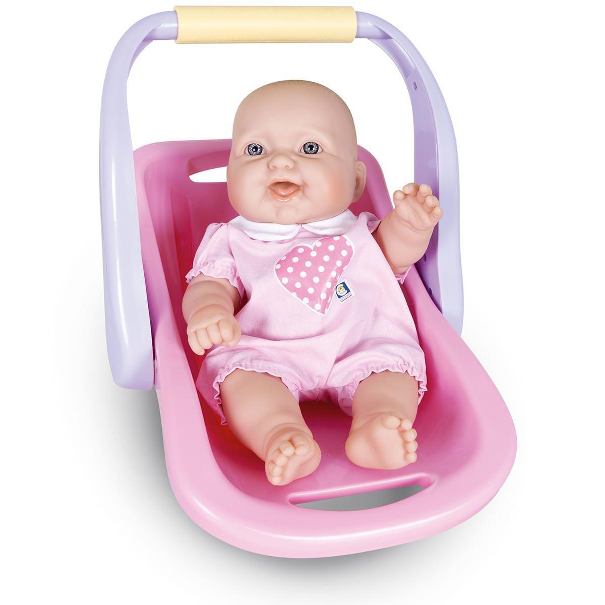 Boneca e Bebê Conforto La New Born - Cotiplas