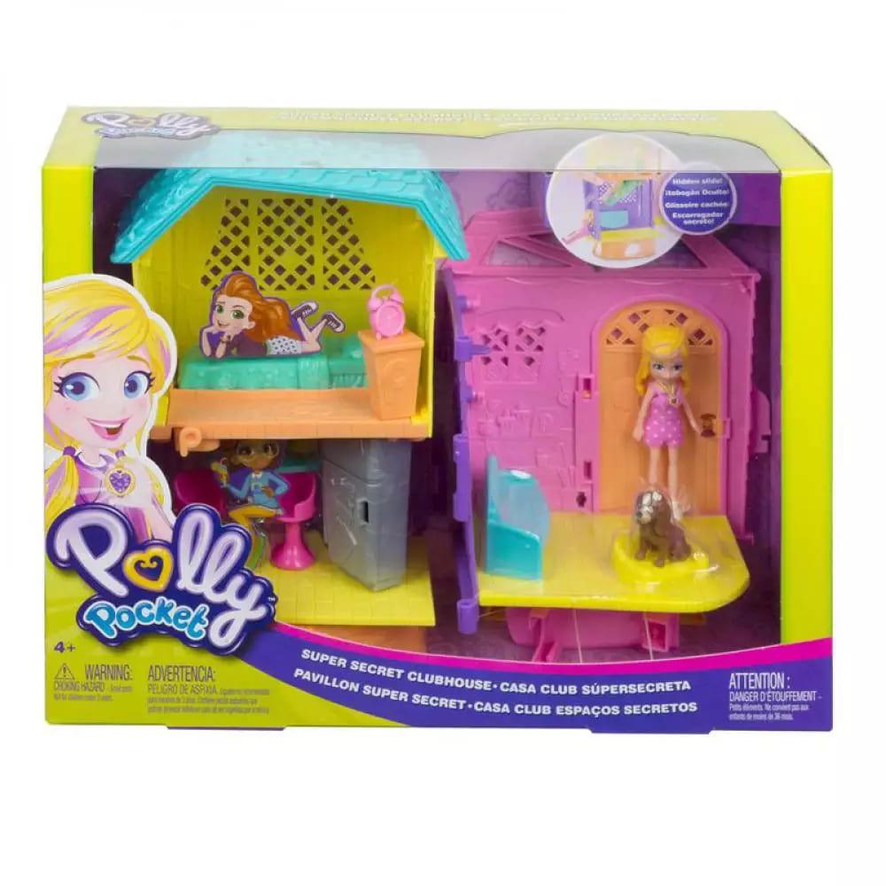 Boneca Polly Pocket Clubhouse da Polly - Mattel