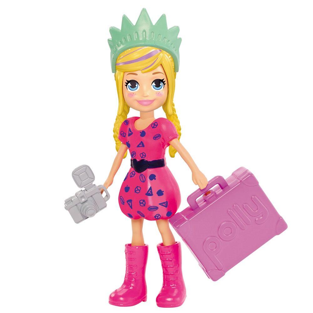 Boneca Polly Pocket Mochila de Férias - Mattel