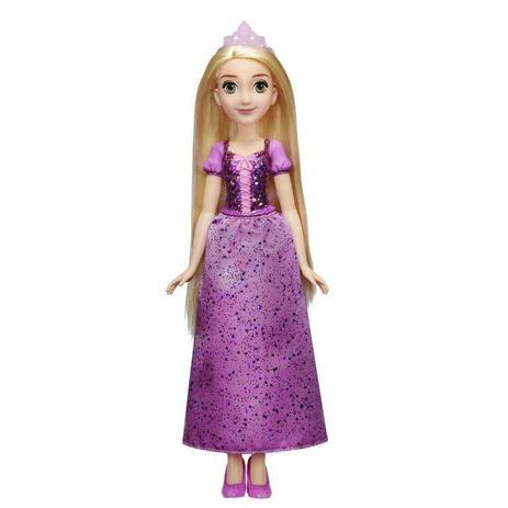 Boneca Princesa Rapunzel Brilho Real Disney - Hasbro
