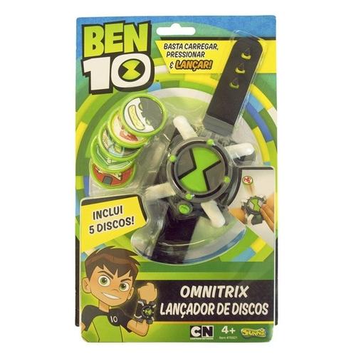 Boneco Ben 10 omnitrix lançador - Sunny