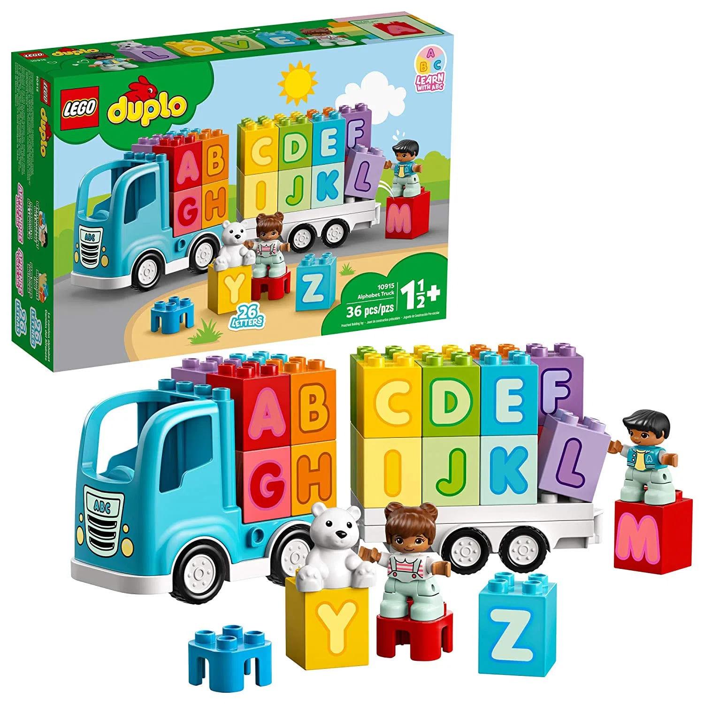 Duplo Caminhão do Alfabeto - Lego