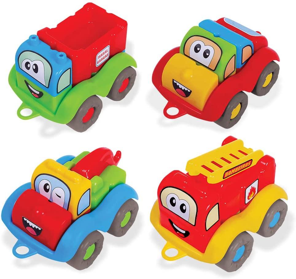 Carrinhos de Encaixe M-Bricks Cars Maral