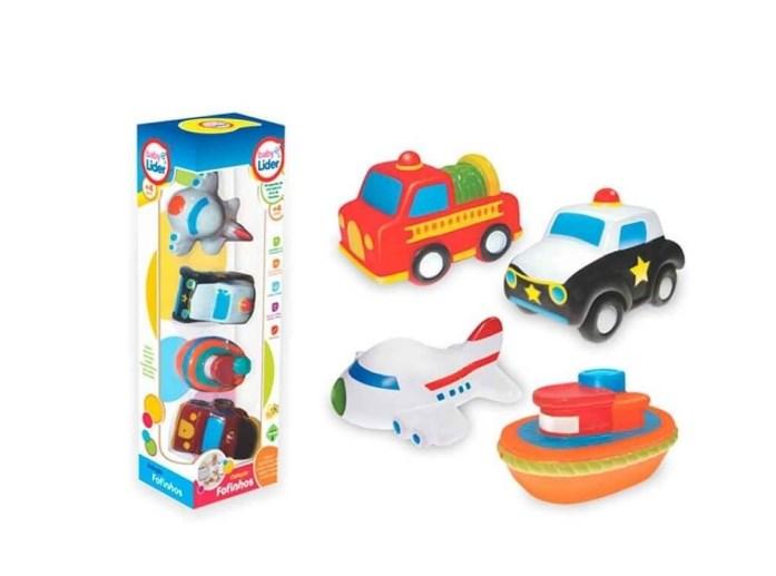 Coleção carrinhos transportes fofinhos baby - Lider