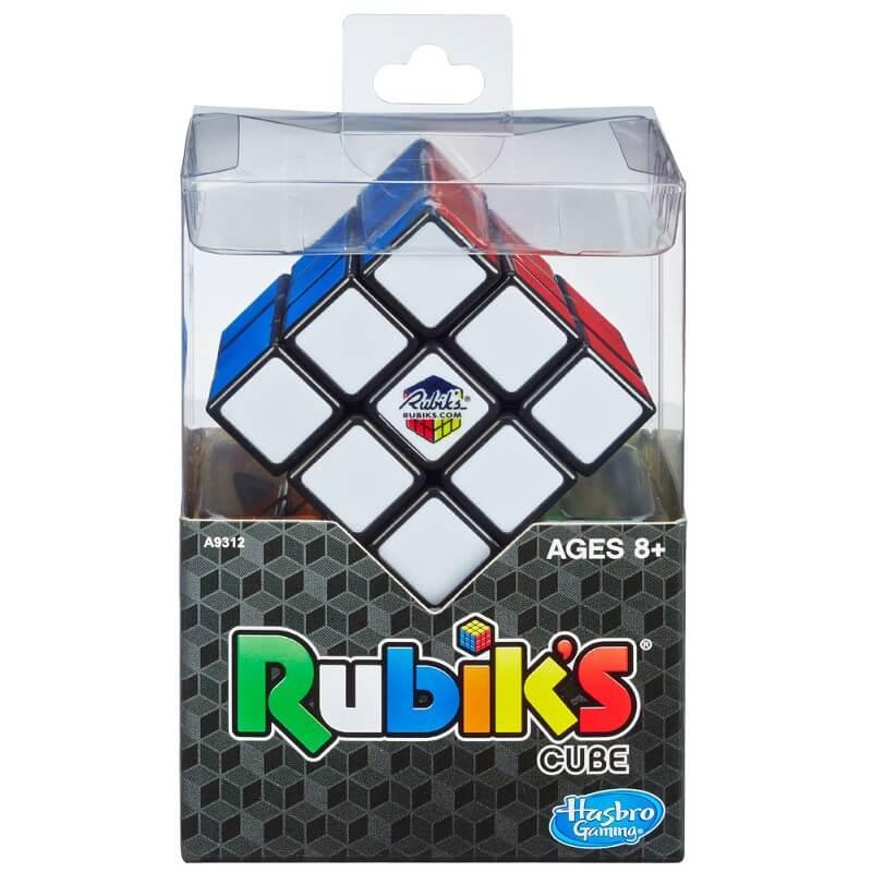 Cubo Mágico - Rubik's Jogo De Raciocínio - Hasbro