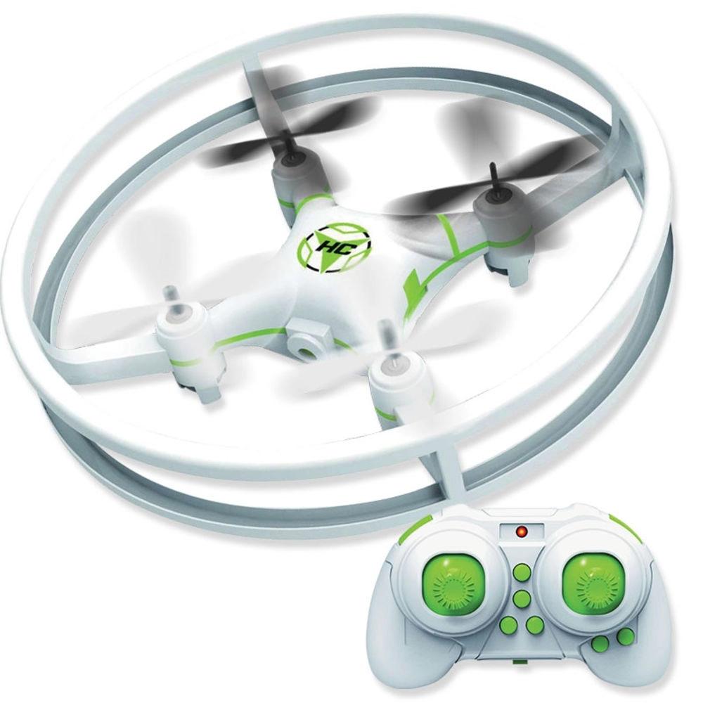 Drone Quadricóptero UFO de Brinquedo com Controle Remoto - Polibriq