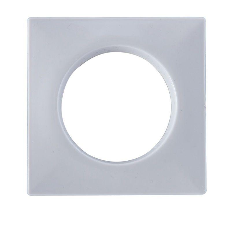 Ilhos Grosso Quadrado Branco para Varão 28mm - Bella Arte