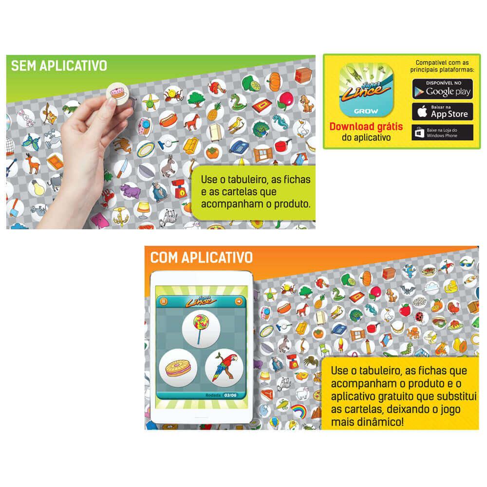 Jogo Super Lince App - Grow
