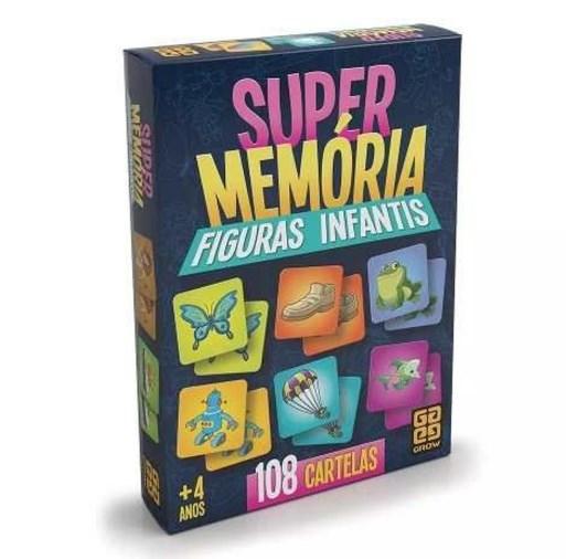 Jogo super memoria figuras infantis - Grow