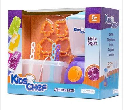 Kids Chef Sorveteria Picole - Multikids