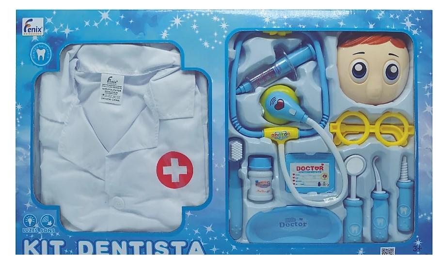 Kit dentista azul - Fenix