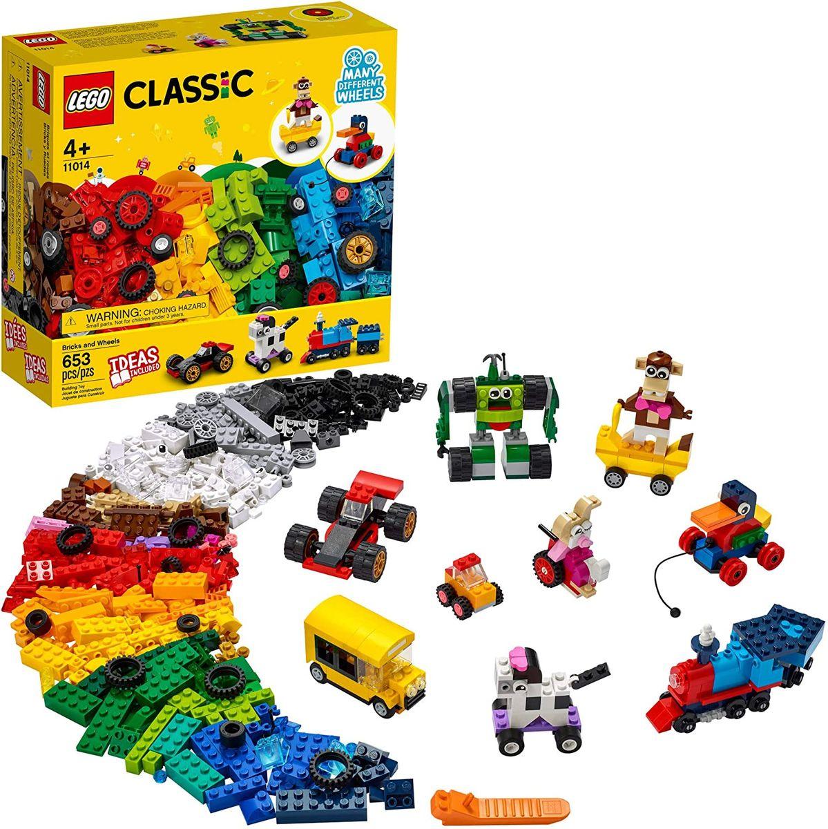 LEGO CLASSIC BLOCOS E RODAS
