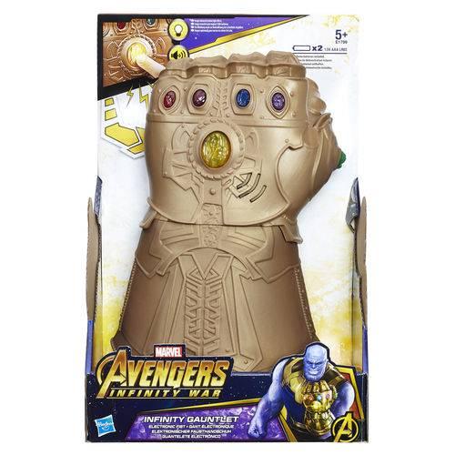 Manopla eletronica vingadores guerra infinita Thanos - Hasbro