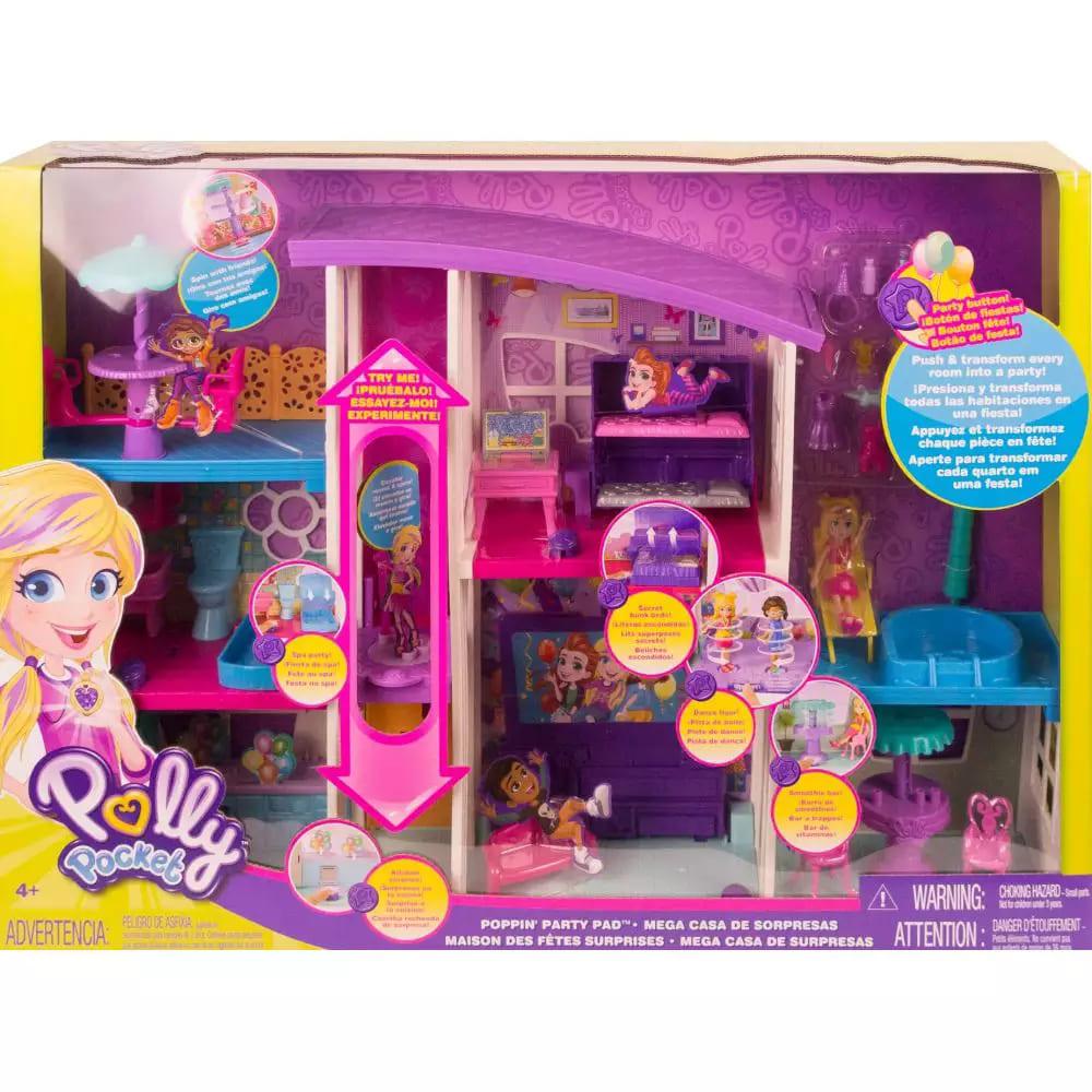 Mega Casa De Surpresas - Polly Pocket