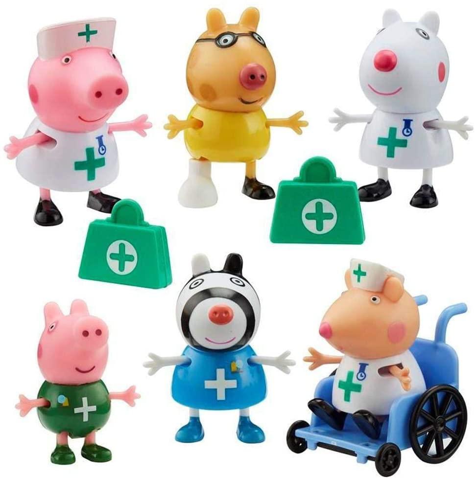 PEPPA PIG MÉDICOS E ENFERMEIROS SUNNY