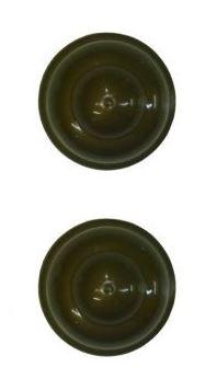 Ponteira Bola Aluminio Grossa 28m Ouro Velho - Bella Arte