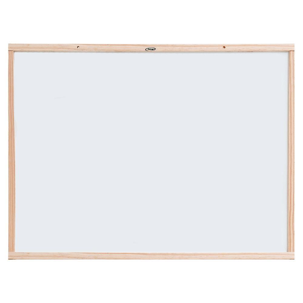 Quadro Branco com Moldura em Madeira 80x100cm - Xalingo
