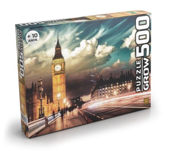 Quebra cabeça Londres puzzle 500 pç - Grow