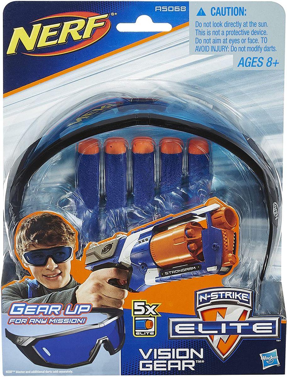 REFIL NERF N-STRIKE ELITE VISION GEAR- 5 DARDOS A5068 HASBRO
