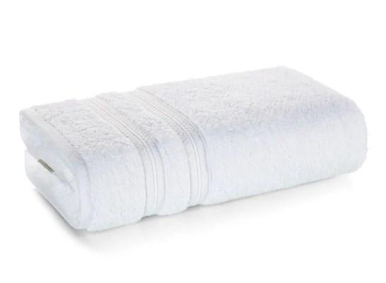 Toalha banho unika branco 70x140 - Karsten