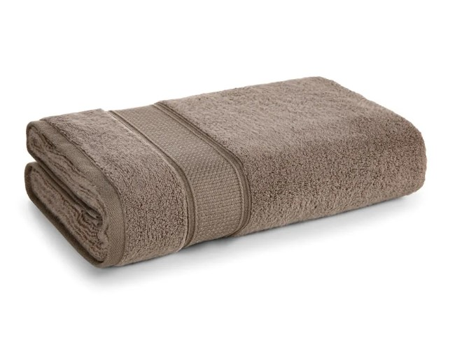 Toalha de banho due class taupe - Karsten
