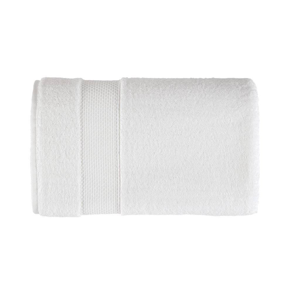 Toalha de Rosto Faces Branco 48x80cm  - Karsten