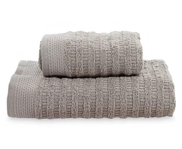 Toalha rosto 48x90 Organic kaki - Buddemeyer