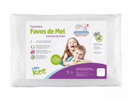 Travesseiro 50x70cm Favos de Mel Kids - Fibrasca