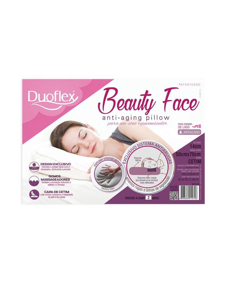 Travesseiro beauty face - Duoflex