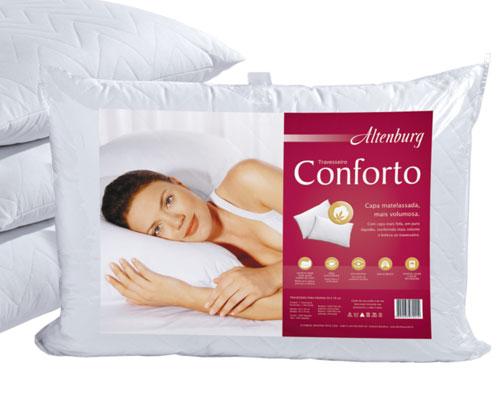 Travesseiro Confort 50cm x 90cm - Altenburg