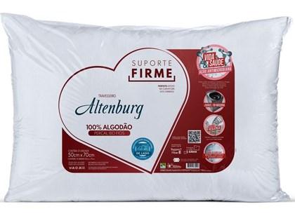 Travesseiro Suporte Firme Percal 180 Fios 50x70 - Altenburg