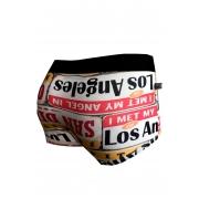 Cueca Boxer Thais Gusmão Los Angeles Colorida