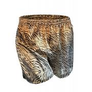 Cueca Shorts - Samba Canção Thais Gusmão Masculino Leoparda malhada