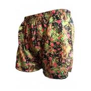 Cueca Shorts - Samba Canção Thais Gusmão Masculino Selvagem Colorido