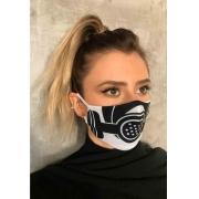Máscara Dupla camada escafandro