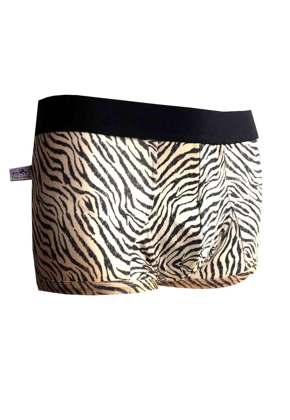 Cueca Boxer Thais Gusmão Leopardo Colorido
