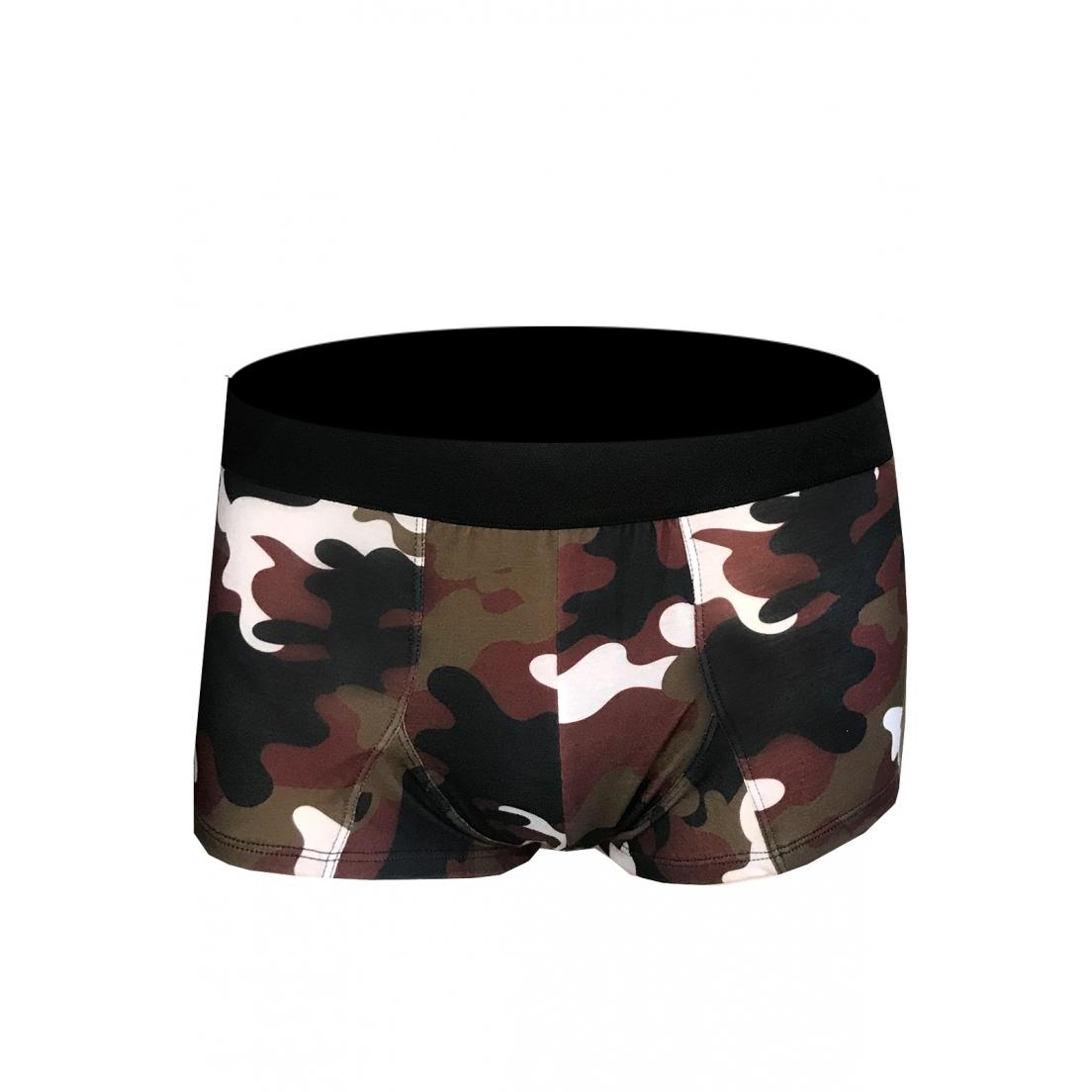 Cueca Boxer Thais Gusmão Savana Militar