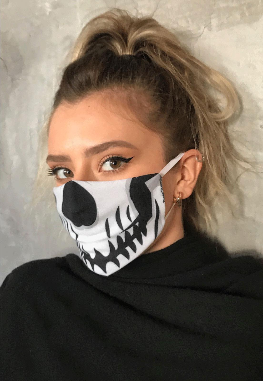 Máscara Dupla camada Skull