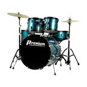 """BATERIA acustica PREMIUM DX722 22"""" Azul"""