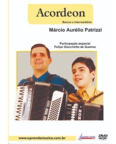 DVD AULA ACORDEON BASICO E INTERMEDIARIO