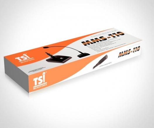 MICROFONE gooseneck TSI MMS-110